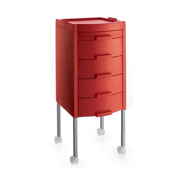 Červený stylingový vozík MANHATTAN | Uki