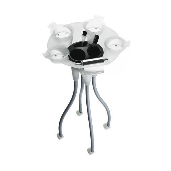 Pojízdný stolek JELLY FISH bílo-černý B300 |Uki