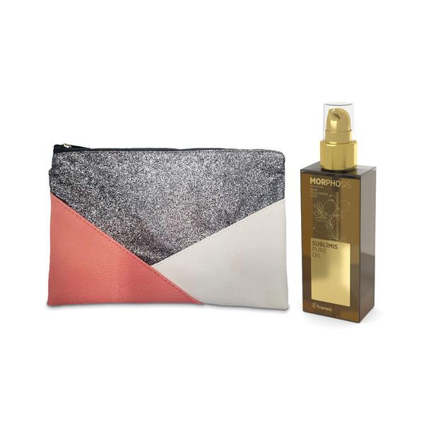 Čistý arganový olej SUBLIMIS PURE OIL 125 ml + dárek kosmetická taštička Framesi Pochette