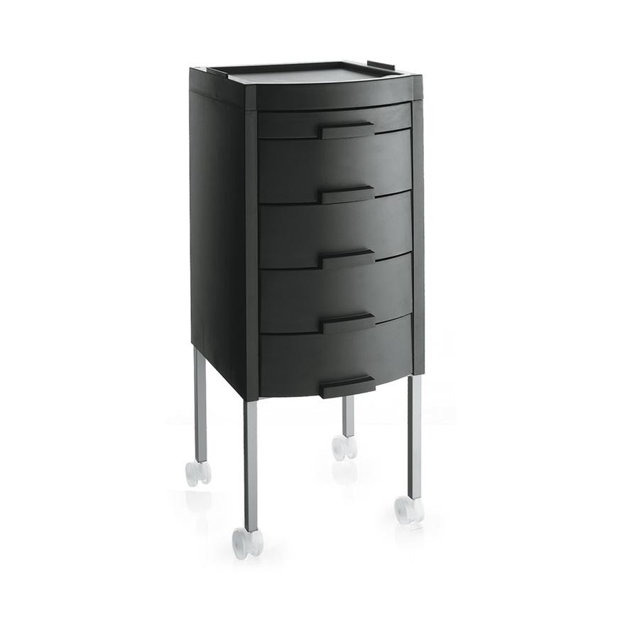 Černý stylingový vozík MANHATTAN | Uki