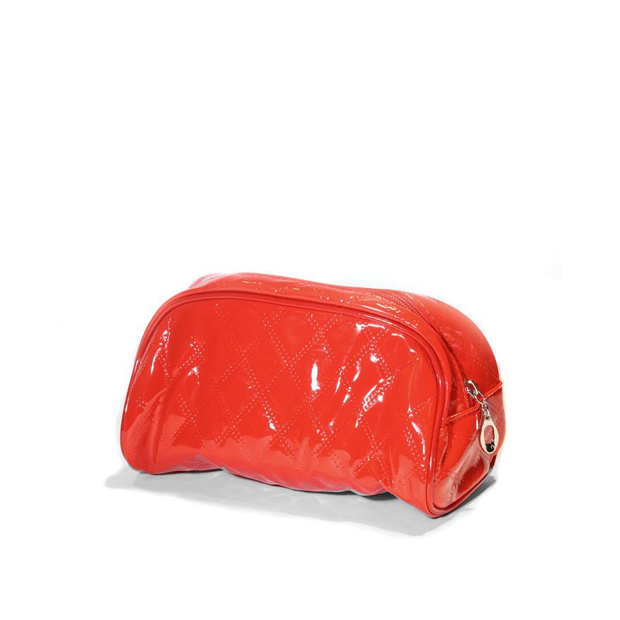 Kosmetická taštička ELISA červená