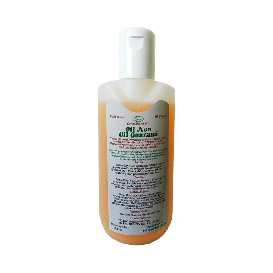 Nemastný vlasový olej GUARANA 250 ml