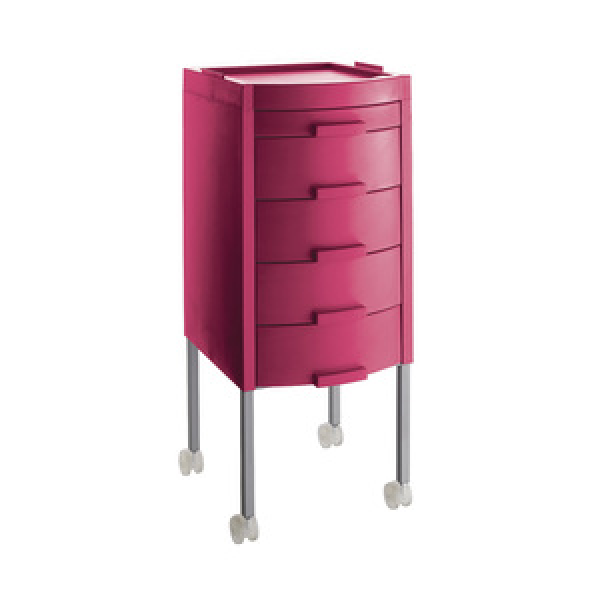 Růžový stylingový vozík MANHATTAN | Uki