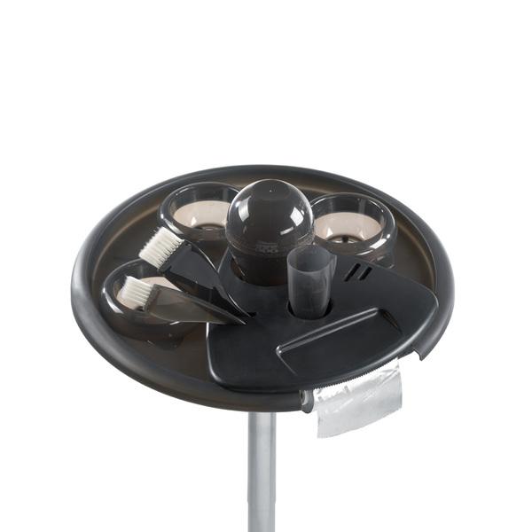 JOY barvící vozík - černý (3 misky,2 štětce,šejkr,odměrka)