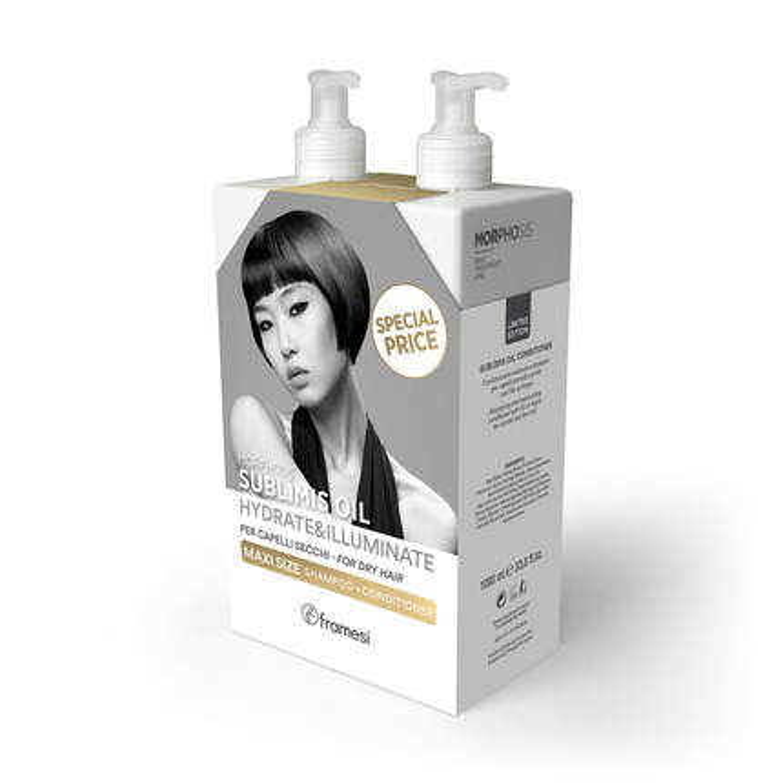 Kit Duoset Sublimis šampon a kondicionér | 2x 1000 ml