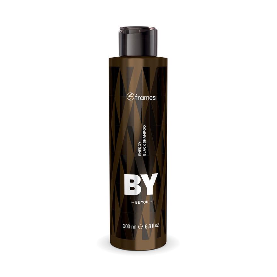 ENERGY BLACK SHAMPOO vlasový šampon pro muže | 200 ml