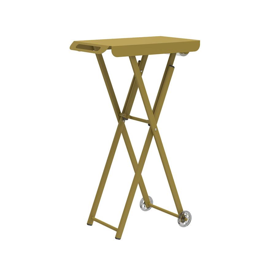Pojízdný barvicí stolek JUST COLOR   barva žlutá