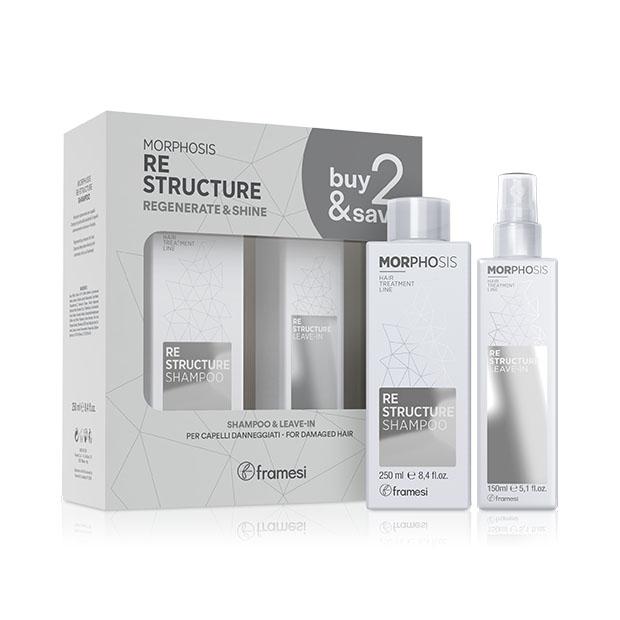 Kit Buy&Save Restructure | revitalizační šampon + bezoplachový sprej Leave-In