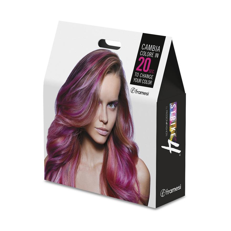 STRIKE 4 - set pro barvení  | 100 ks barvící proužky + 15 barev BOLD + 3 štětce + 2 misky na barvu