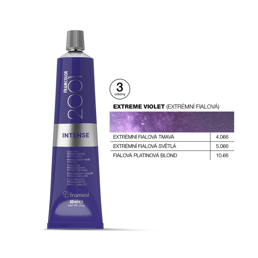 EXTREME VIOLET - fialová platinová blond 60 ml   10.66